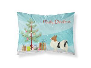 Papillon Christmas Tree Fabric Standard Pillowcase