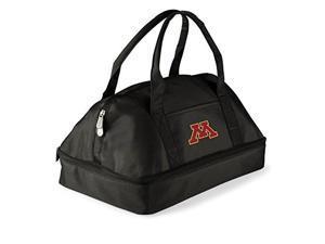 Picnic Time 650-00-175-364-0 University of Minnesota Golden Gophers Digital Print Tote Bag, Black