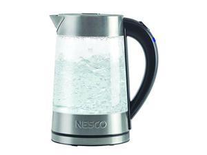 NESCO  GWK-02  Glass  Glass Water Kettle 1.8 Liter