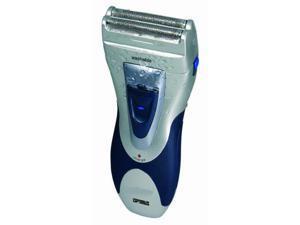 Optimus 50041 Curve Rechargeable Double Blade Wet/dry Men's Shaver, Black/silver