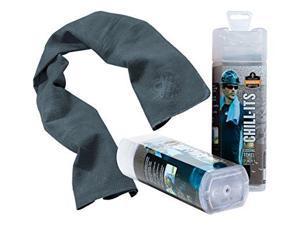 Ergodyne Evaporative Cooling Towel Gray 12438