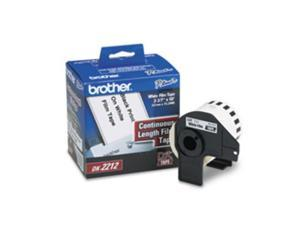 """BROTHER DK2212 TAPE WHITE FILM 2.4"""" X 50', 50' yield"""