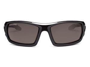 Ergodyne Smoke Lens Safety Glasses Black 50030