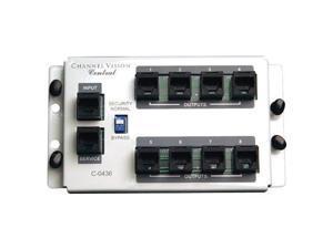 Channel Vision 4x8 RJ45 Telecom Distribution Module (C-0436)