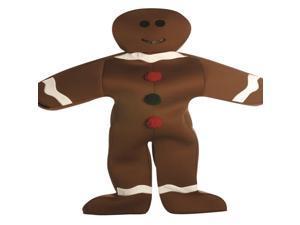 Gingerbread Man Adult Deluxe Costume Standard
