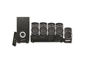 SUPERSONIC SC-37HT 5.1 Channel Dvd Home Theater System With USB Input & Karaoke Function