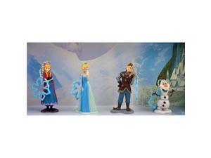 Disney Frozen 30355145 Keychain Set - Anna, Elsa, Kristoff & Olaf - 4 Piece