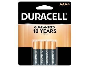 DURACELL CopperTop MN2400 1.5V AAA Alkaline Battery, 4-pack