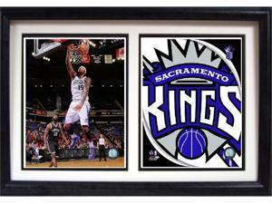 12x18 Double Frame - DeMarcus Cousins Sacramento Kings