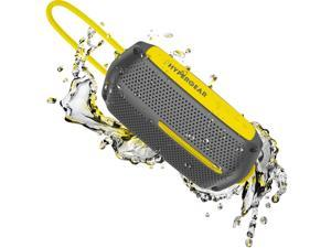 HyperGear WaveWater ResistantWireless Speaker Grey/Yellow