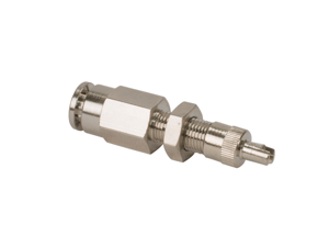 """DOT Inflation Valve (For 1/4"""" Air Line) PTC Style, Nickel Plated (2 pcs) DOT Approved"""
