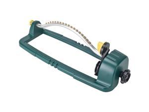 melnor 20300 995087 3400 sq. ft. oscillating sprinkler with brass nozzles, 3,400, basic