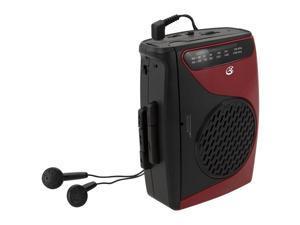 GPX CASSETTE RECORDER WITH AM/FM RADIO