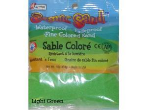 ACTIVA 1 lb. Bag of Colored Sand - Scenic Sand - Light Green