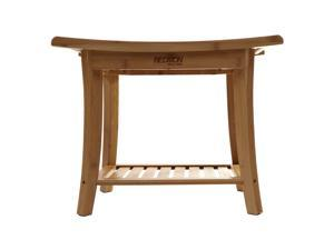 Bamboo Shower Bench w/Side Handles 5449 By W. C. Redmon Co