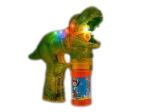 Flashing LED Dinosaur Bubble Gun