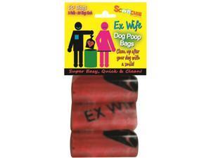 Scoochie EX WIFE 3 Pack Poop Bags In Bag and Header