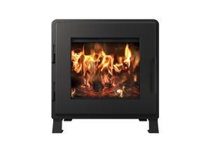 Nova Wood Stove - Satin Black