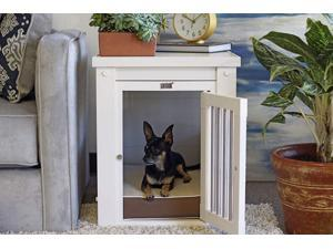 New Age Pet  InnPlace Dog Crate - Antique White Small