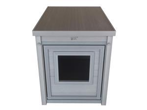 New Age Pet Jumbo LitterLoo Litter Box Cover/End Table - Grey