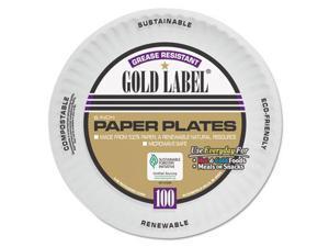 C-Gold Label Ppr Plt Coat 6In Whi 12/100
