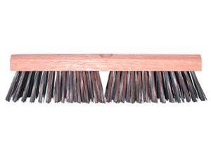 "12""Carbon Steel Wire Deck Brush W/O H"