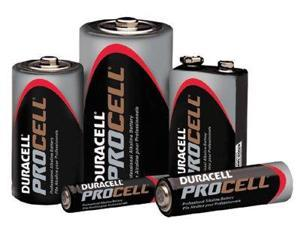 DURACELL PC2400BKD Duracell Procell AAA Alkaline Battery, 24 PK, 1.5VDC