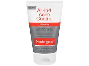 Neutrogena All-in-One Acne Control Daily Scrub, 4.2 oz by Neutrogena