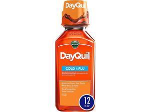 Vicks DayQuil Cold & Flu Liquid - 12 oz