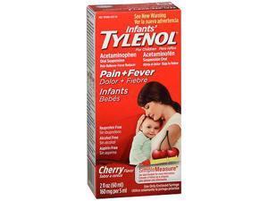 Tylenol, Infants' Acetaminophen, Oral Suspension, Cherry Flavor - 2 oz