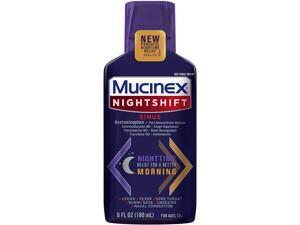 MUCINEX Nightshift Sinus 6 fl. oz.