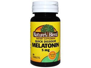 Nature's Blend Melatonin 5 mg 60 Tabs