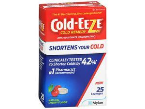 Cold-Eeze Cold Remedy Lozenges Natural Cherry - 25 Ct.