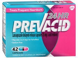 Prevacid 24 HR Acid Reducer Capsules - 42 ct
