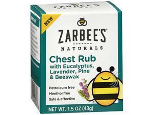 Zarbee's Naturals Chest Rub - 1.5 oz
