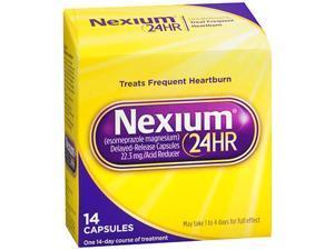 Nexium 24HR, Acid Reducer, Delayed-Release, Capsules - 14 Capsules