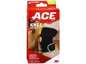 Ace Neoprene Knee Support, Adjustable, Moderate Support - Each