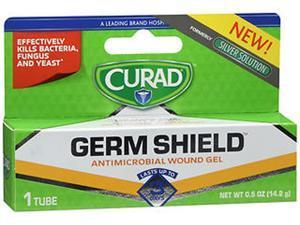 Curad Germ Shield Antimicrobial Wound Gel - .5 oz
