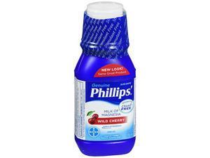 Phillips' Milk of Magnesia Liquid Wild Cherry  - 12 oz