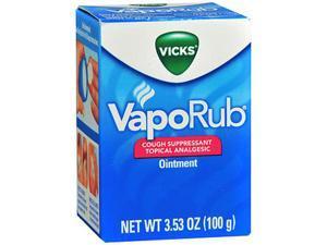 Vicks VapoRub Ointment - 3.5 oz