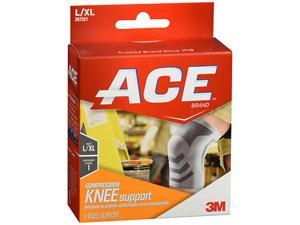 Ace Compression Knee Support L/XL 207321 - 1 each
