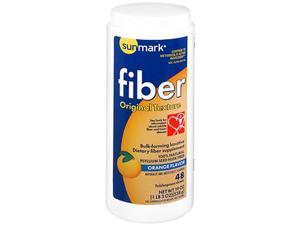 Sunmark Fiber Laxative Original Texture Orange Flavor - 19 oz