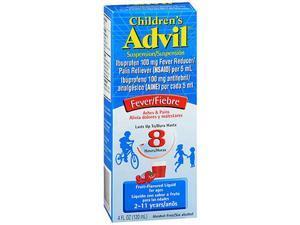 Advil Children's Suspension Fruit-Flavored Liquid - 4 oz