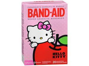Band-Aid Brand Adehesive Bandages Hello Kitty, Assorted 20 ct