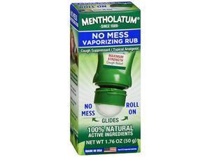 Mentholatum No Mess Vaporizing Rub - 1.76 oz