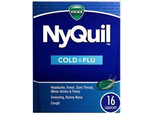 Vicks NyQuil Cold & Flu LiquiCaps - 16 LiquiCaps