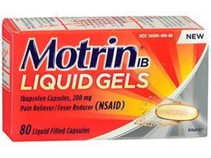 Motrin IB Liquid Gels - 80 ct