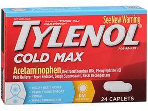 Tylenol Cold Multisymptom Relief Caplets, 24 Count