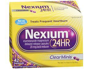 Nexium 24hr Clear Minis Acid Reducers, 42ct
