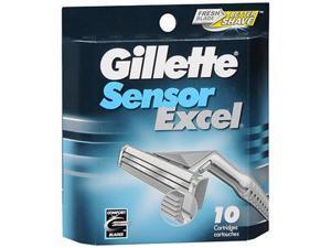 Gillette Sensor Excel Cartridges - 10 ct